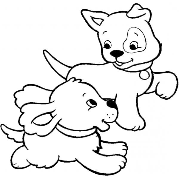 14 disegni cuccioli da colorare di cani gatti e altri animali for Cani e gatti da stampare e colorare
