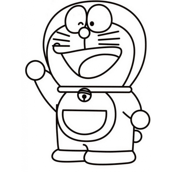 23 disegni doraemon da colorare for Disegni da colorare doraemon