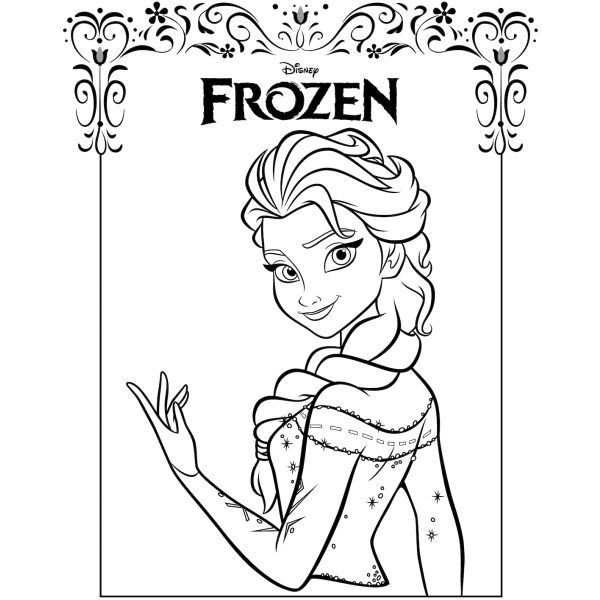 Frozen Da Colorare E Stampare