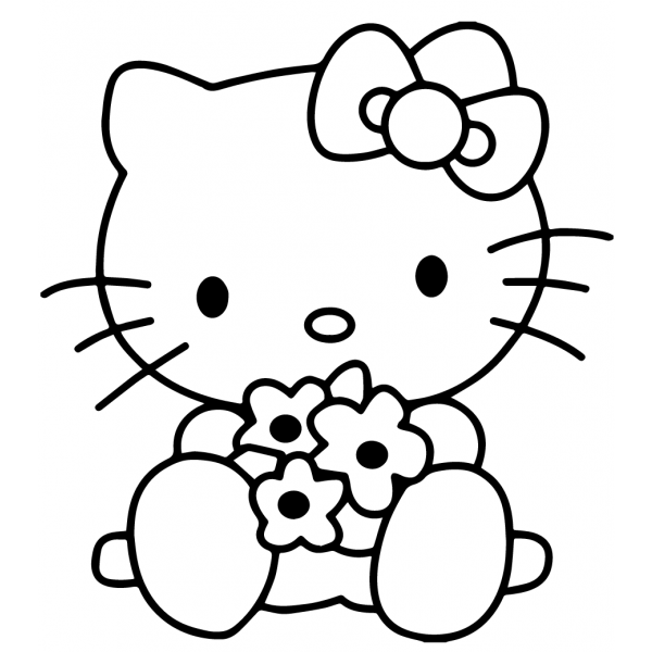 71 Disegni Hello Kitty Da Colorare Per Bambine
