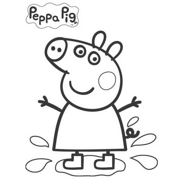 Disegno Di Peppa Pig Da Colorare.38 Disegni Peppa Pig Da Colorare E Stampare