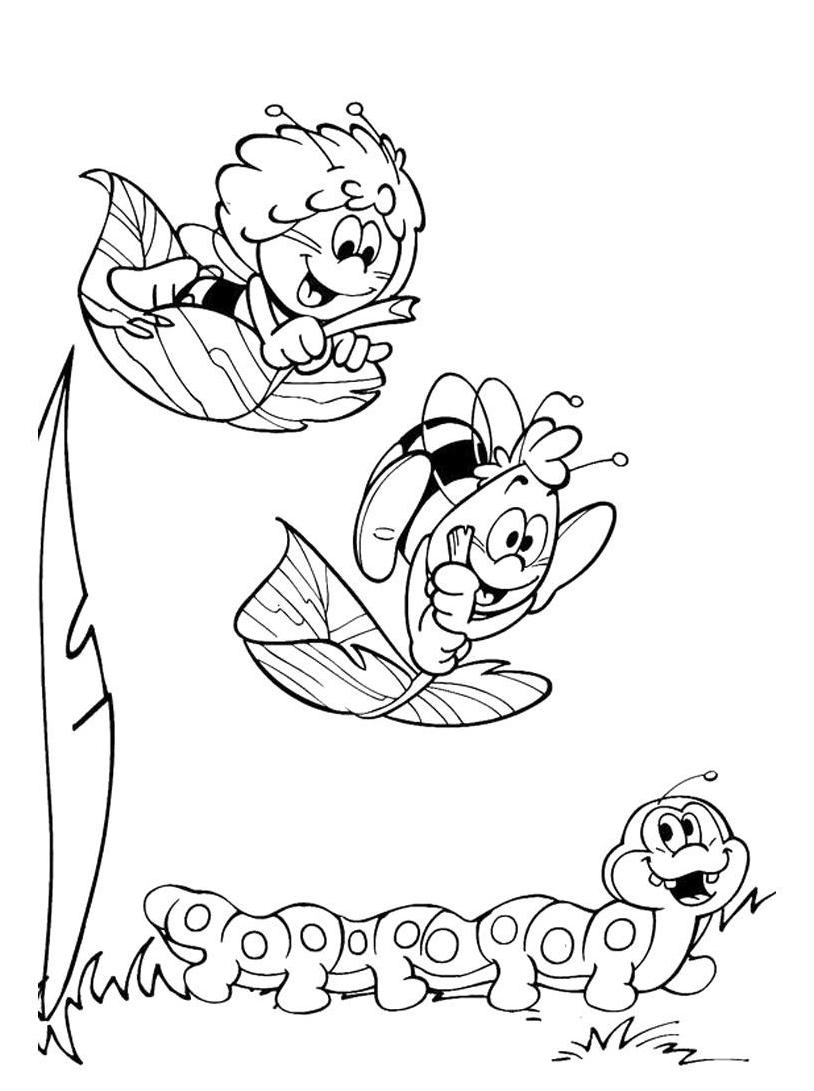39 disegni ape maia da colorare e stampare for Disegni da colorare e stampare ape maia