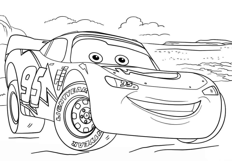 Disegni Da Colorare Di Cartoni Animati: 84 Disegni Cars Da Colorare E Stampare Per Bambini