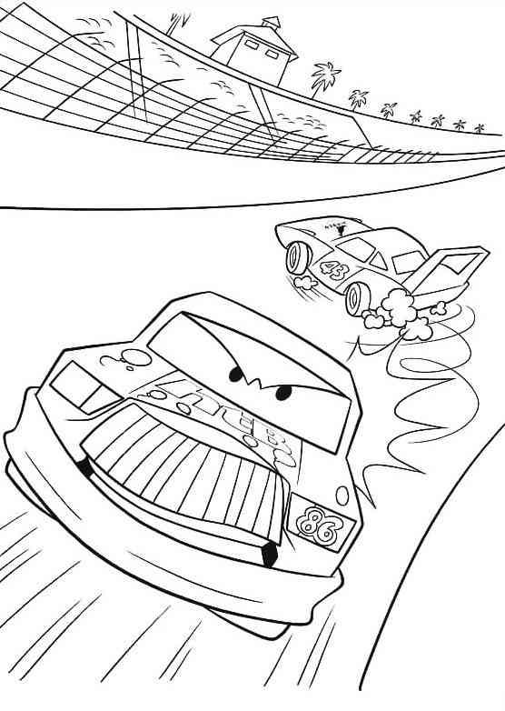 Disegni cars da colorare e stampare per bambini