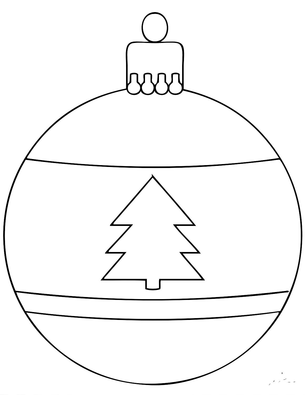 Днем, картинки елочных шаров нарисованные