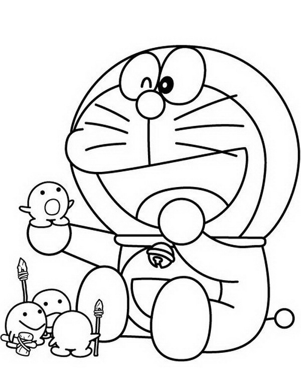 23 disegni doraemon da colorare for Disegni da colorare doraemon