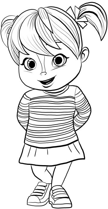 22 disegni alvin superstar and the chipmunks da colorare for Immagini da colorare alvin