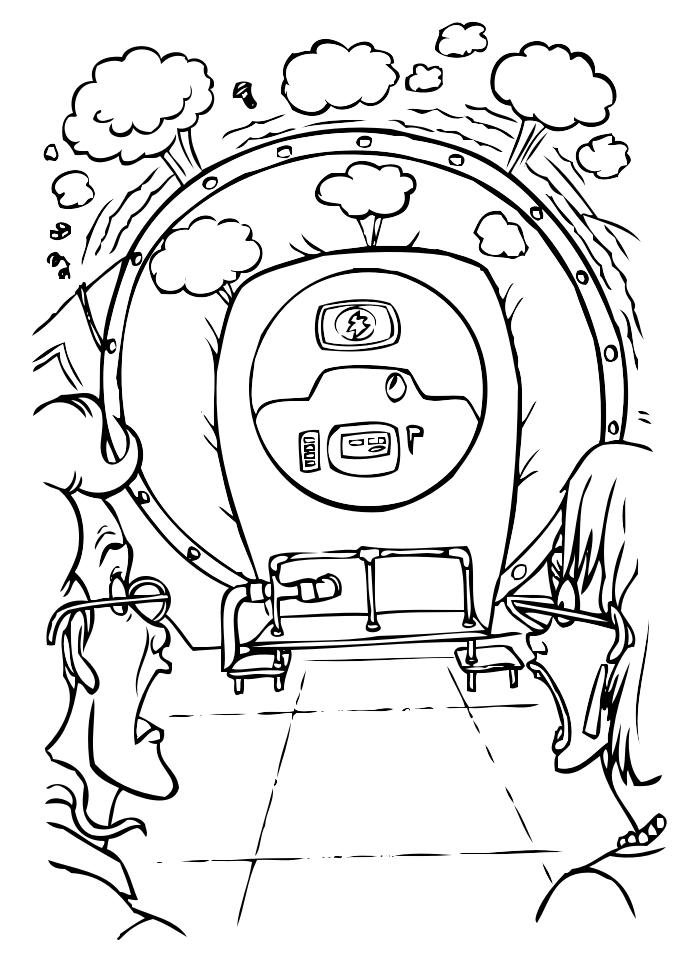 Disegni ghostbuster da colorare per bambini