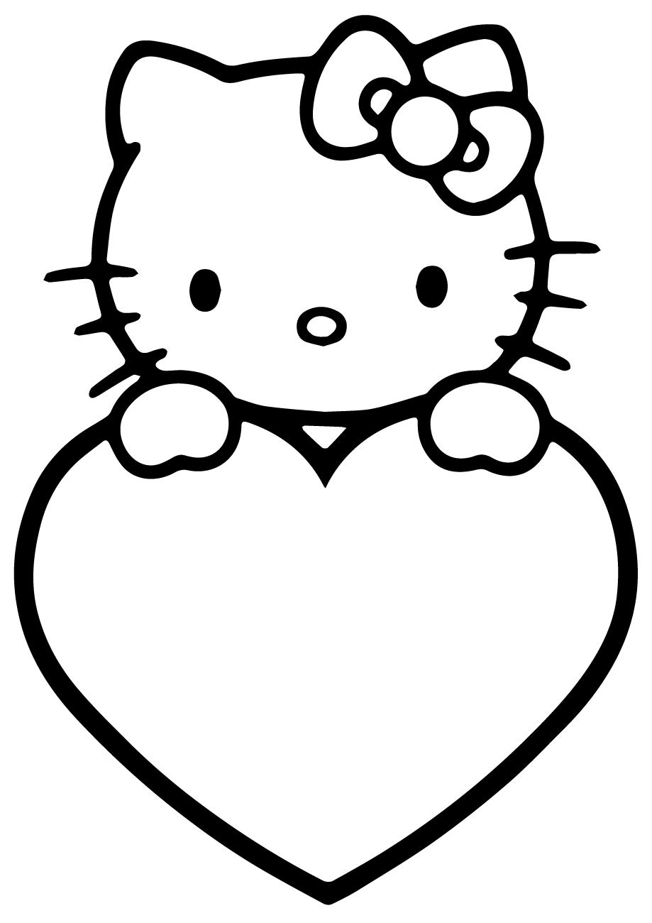 71 Disegni Hello Kitty Da Colorare Per Bambine