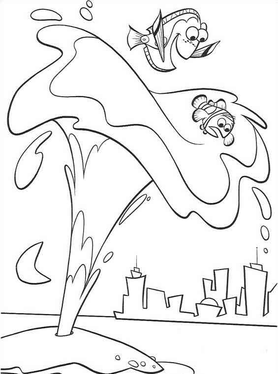 72 disegni nemo da colorare for Nemo disegni da colorare