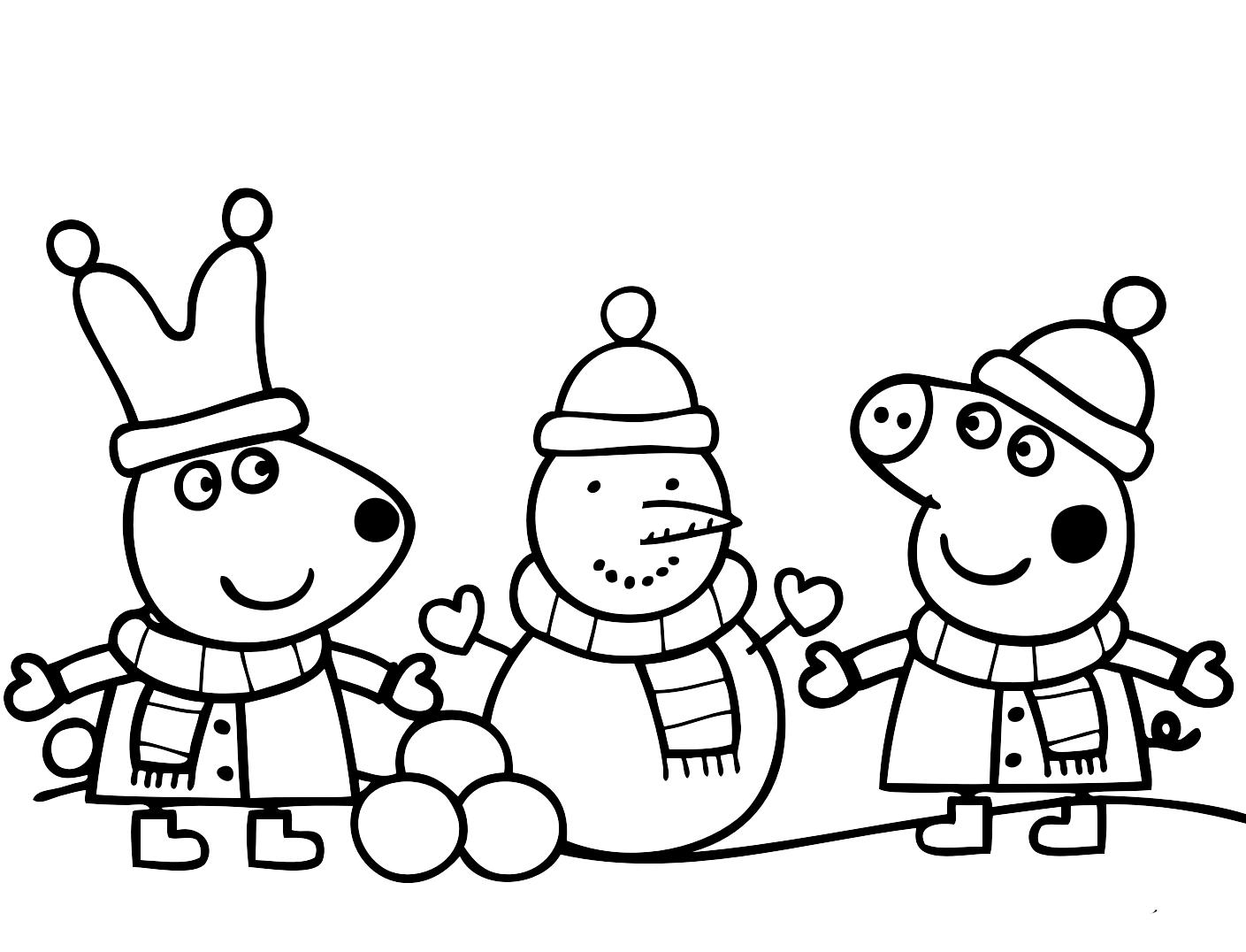 Disegno Peppa Pig Da Colorare.38 Disegni Peppa Pig Da Colorare E Stampare