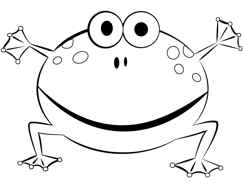 бесплатно рисунок лягушонка распечатать вызванных