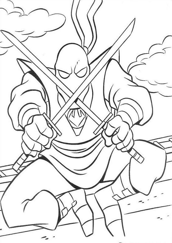 67 Disegni Tartarughe Ninja Da Colorare