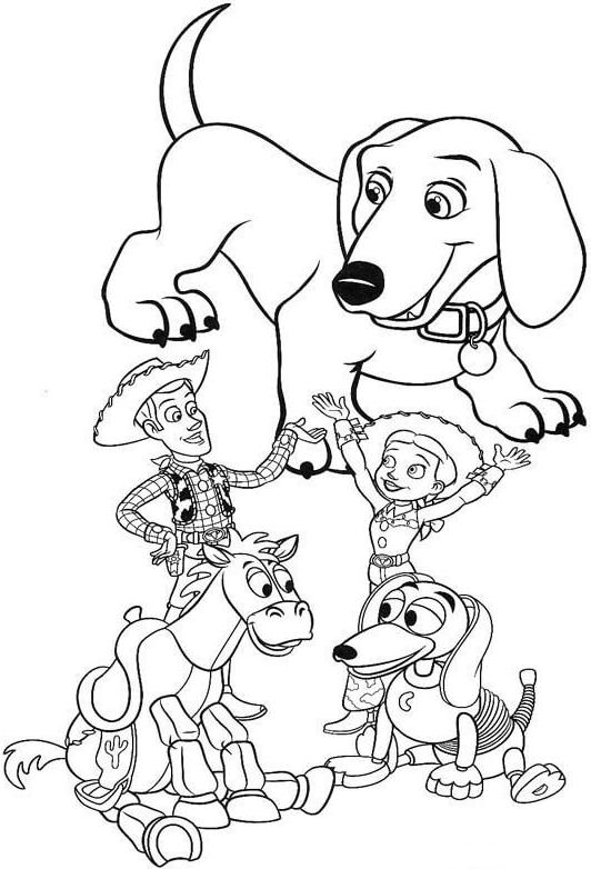 65 Disegni Toy Story Da Colorare