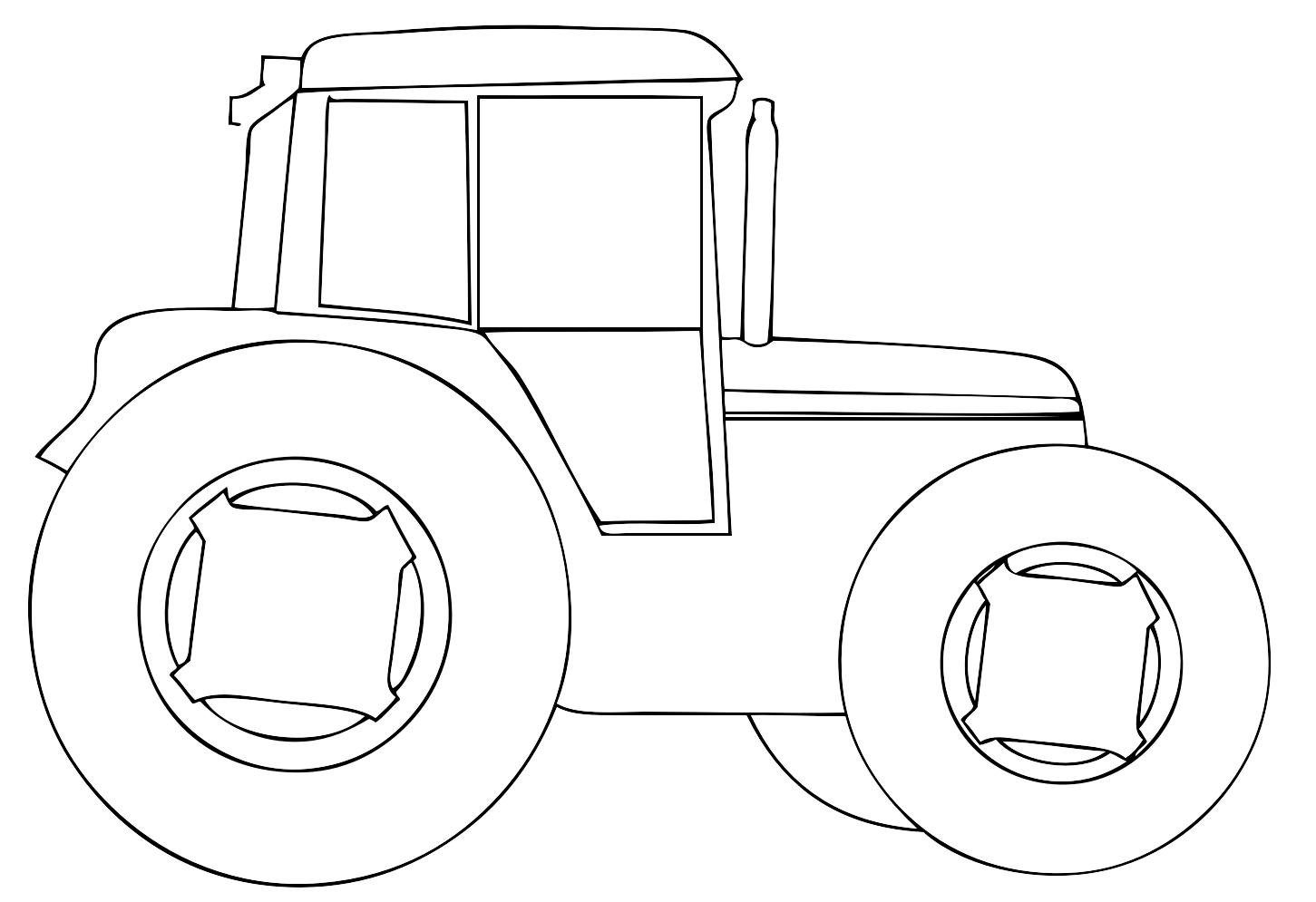 Disegno Trattore Da Colorare.14 Disegni Di Trattori Da Colorare Per Bambini